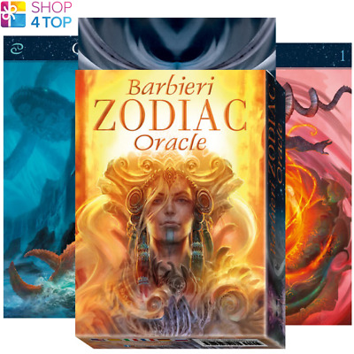 Barbieri Zodiac Oracle Cards Deck Esoteric Telling Lo Scarabeo New