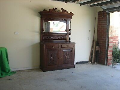 Antique 2 Door Storage Sideboard