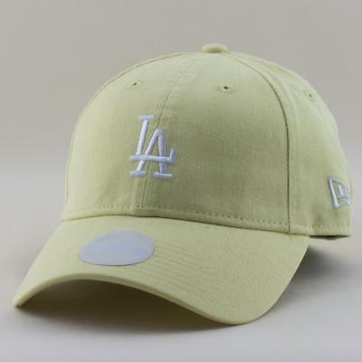Ladies LA Dodgers New Era MLB Team 9Twenty Hat Baseball Cap In Yellow