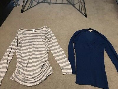 Ripe And H&M Mama Large Maternity Jumpers