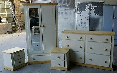 Handmade Aylesbury Country 4 Piece Bedroom Set Assembled**Special Offer**