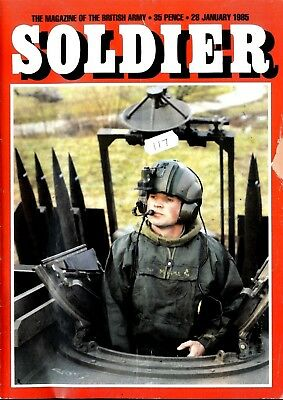 Soldier Magazine 28/1/85 Hong Kong Special, Grenadiers In Belize, Tracked Rapier