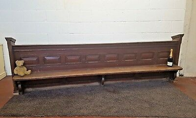 Vintage Church Pew Kneeling Pew Chapel Bench FREE MANCHESTER DELIVERY