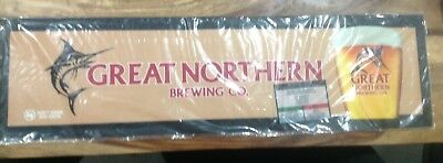 Great Northern Rubber Backed Beer Mat Runner