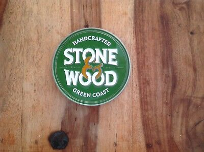 Stone & Wood Green Coast Lager Beer Tap Badge