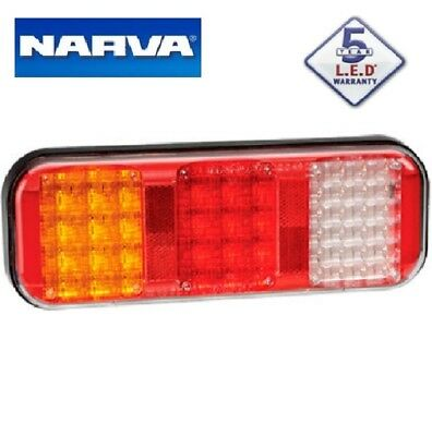 Narva LED Rear Stop Tail Indicator Reverse Tail Light with Cable SINGLE 5yr WTY