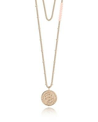 Joma Jewellery Coin Love Necklace - Rose Gold - Ladies Jewellery