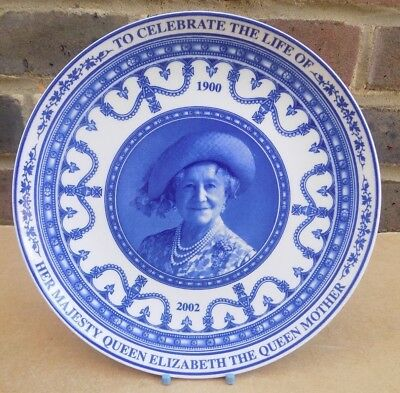 WEDGWOOD Life of the Queen Mother Collector Plate