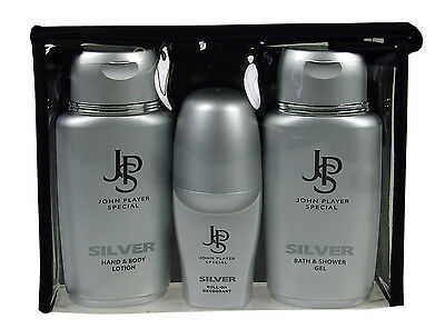 John Player Special Silver Duschgel Roll-On Deo Body Lotion