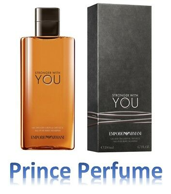 EMPORIO ARMANI STRONGER WITH YOU ALL OVER BODY SHAMPOO - 200 ml