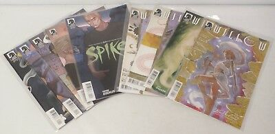 Buffy the Vampire Slayer: Willow and Spike Season 9 Comic Books