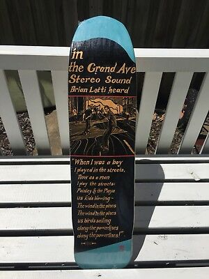 Stereo Skateboards Brian Lotti (Signed/Limited edition) 147/300