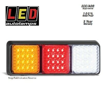 Autolamps Tail Light LED Rear Stop Tail Indicator Reverse 100% Waterproof Single