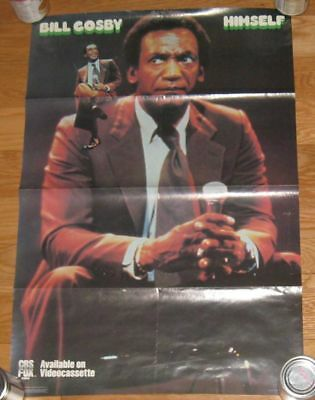 """1985 Bill Cosby Himself HUGE WALL POSTER 19""""x28"""" acceptable!"""