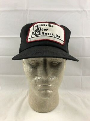 Vintage KDM, Inc. Mesh Farmer Trucker Hat- K Products Logo Patch Made in USA