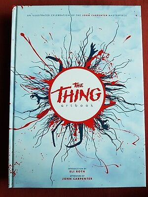The Thing Artbook Printed In Blood Hb Signed By 17 Artists 1St Ed Ltd