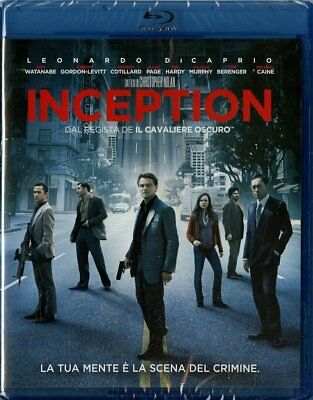Inception Di Christopher Nolan Con Leonardo Di Caprio (Blu-Ray) Nuovo, Italiano