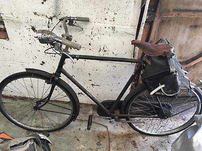 1940's / 50's Ex police Raleigh classic bicycles. Pair ladies and gents £345