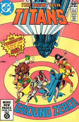 NEW TEEN TITANS 10 80's SERIES DEATHSTOKE 2nd APPEARENCE DC COMIC
