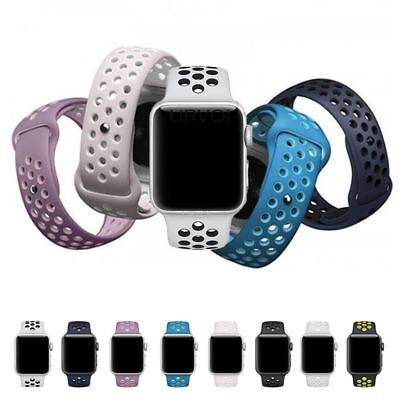 URVOI Apple Qatch Nike+ lightweight Breathable silicone strap colors sport  band