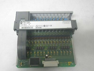 1746-ITB16 1746ITB16 Ser C Allen Bradley SLC 500 Input Module (Used and Tested)