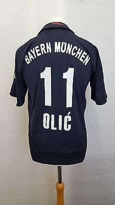 Retro Bayern Munich Away Shirt 2008/09 11 OLIC adidas Football S Small 34/36