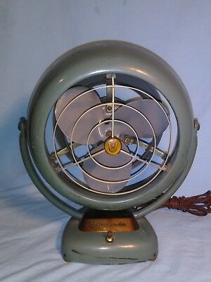 Vintage Vornado, Model 20C2-1, 2 Speed Fan, Mid Century Industrial Retro 1950's