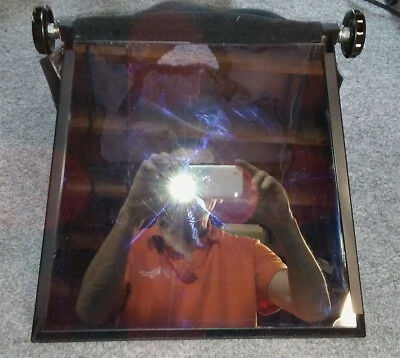 Teleprompter Frame, Glass, Hood, No Sled - Excellent Condition - $50.00