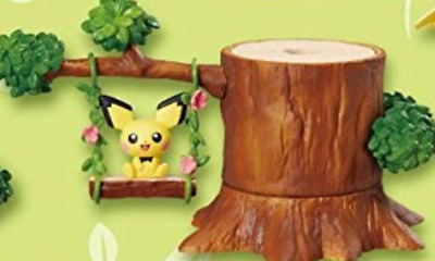 """Pokemon """" Pokemon Forest """" PIchu from Japan Re-Ment  SALE anime F/S"""
