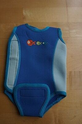 Mothercare Swimming Baby Boy Wetsuit Vest 3 - 6 months