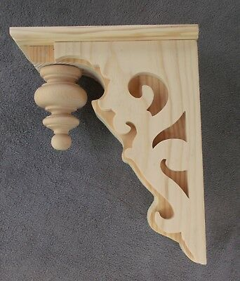 "Victorian Gingerbread Wood Corbel {15.5"" x 12""} #7 ~ Deluxe Final ~ ONE PAIR"