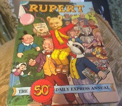 Rupert Annual 1985 - The 50th Daily Express Annual