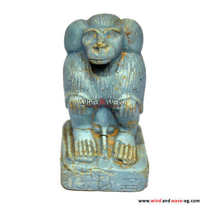 Rare Antique Ancient Egyptian Baboon Statue