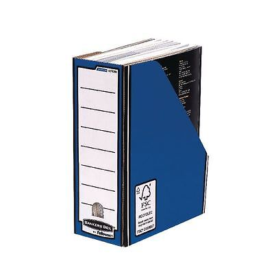 Fellowes Blue /White Bankers Box Premium Magazine File (Pack of 10) [BB53042]