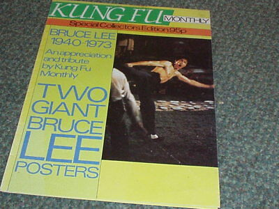 BRUCE LEE Special Edition POSTER MAGAZINE Kung Fu Martial Arts