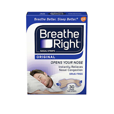 Breathe Right Nasal Strips Original Large 30 ct.