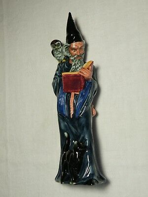 "Vintage Royal Doulton Figurine  ""the Wizard""  H.n. 2877  Great Condition"