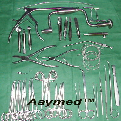 Craniotomy Instruments Set Orthopedic Surgical Instruments Prime Quality CE