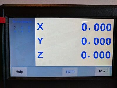 DRO Display 3-axis USA -2yr warranty programmable interfaces w/ OEM- DRO scales