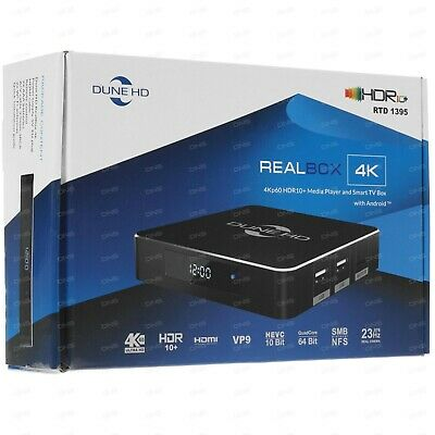 *NEW* Dune HD Neo 4K Plus, 4Kp60 HDR Media Player, Android Smart TV box