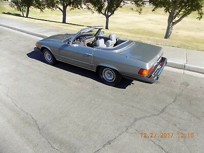 1982 Mercedes-Benz SL-Class SL ROADSTER 1982 MERCEDES 380 SL GORGEOUS CALIFORNIA CAR ONLY 68,000 MILES,BOOKLETS