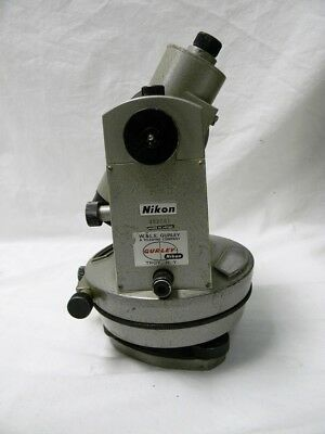Vintage Nikon H-5 Theodolite Engineers Level Nippon Kogaku With Metal Case.