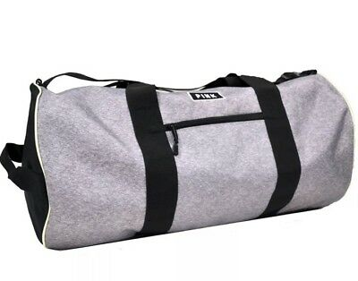 3e7bcd370e22 NEW VICTORIA'S SECRET PINK WEEKENDER DUFFLE GYM BAG Black & Gray NWT ...