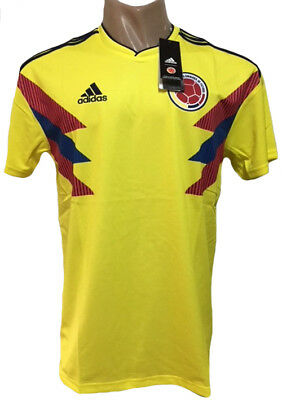 e6557c6b1bc COLOMBIA HOME SOCCER Jersey World Cup 2018 All Sizes -  49.00
