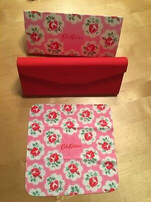 Stunnning Cath Kidston Glasses Case With Card Case And Cleaing Cloth Hardly used
