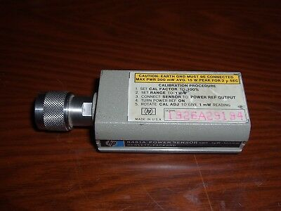 HP / Agilent 8481A Power Sensor **TESTED** 10MHz 18GHz 1uW 100mW (-30dBm 20dBm)