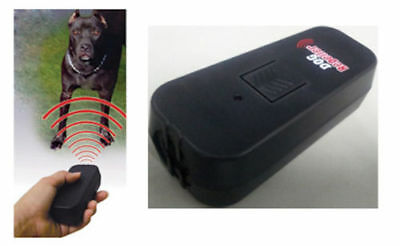 Hand Held Portable Dog Repeller Obedience Trainer Device Anti Bark Stop Barking