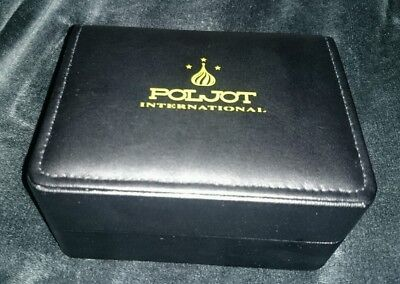 *poljot International Russian Wristwatch Presentation Display Box/ Instructions*