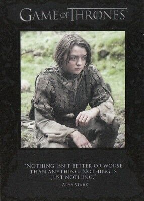 Game Of Thrones Season 4 - Q40 Quotable Chase Card (Rewards)