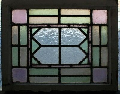 Original Arts & Crafts Antique English Stained Glass Window